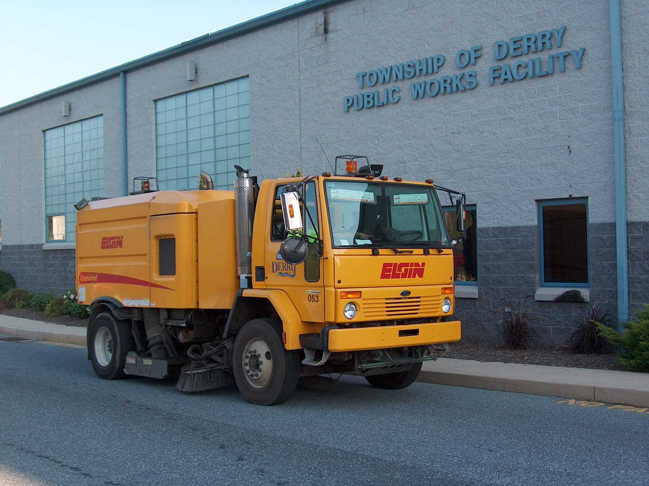 Derry Township Street Sweeping