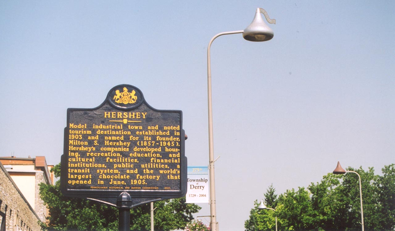 Historical Marker in Derry Township