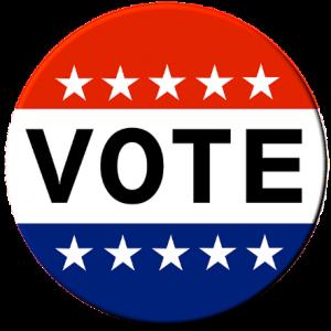 round vote button